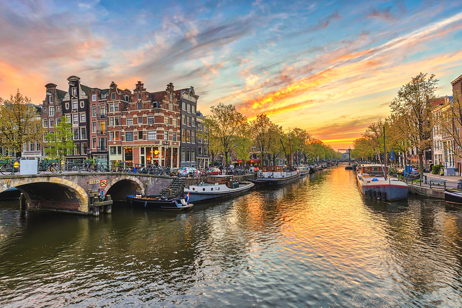 Amsterdam, the Netherlands, where the supermarket is located