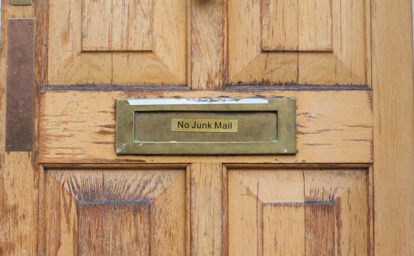 How to reduce your junk mail & waste less