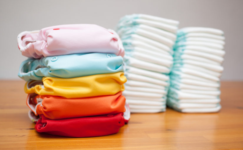 Cloth nappies v disposable nappies
