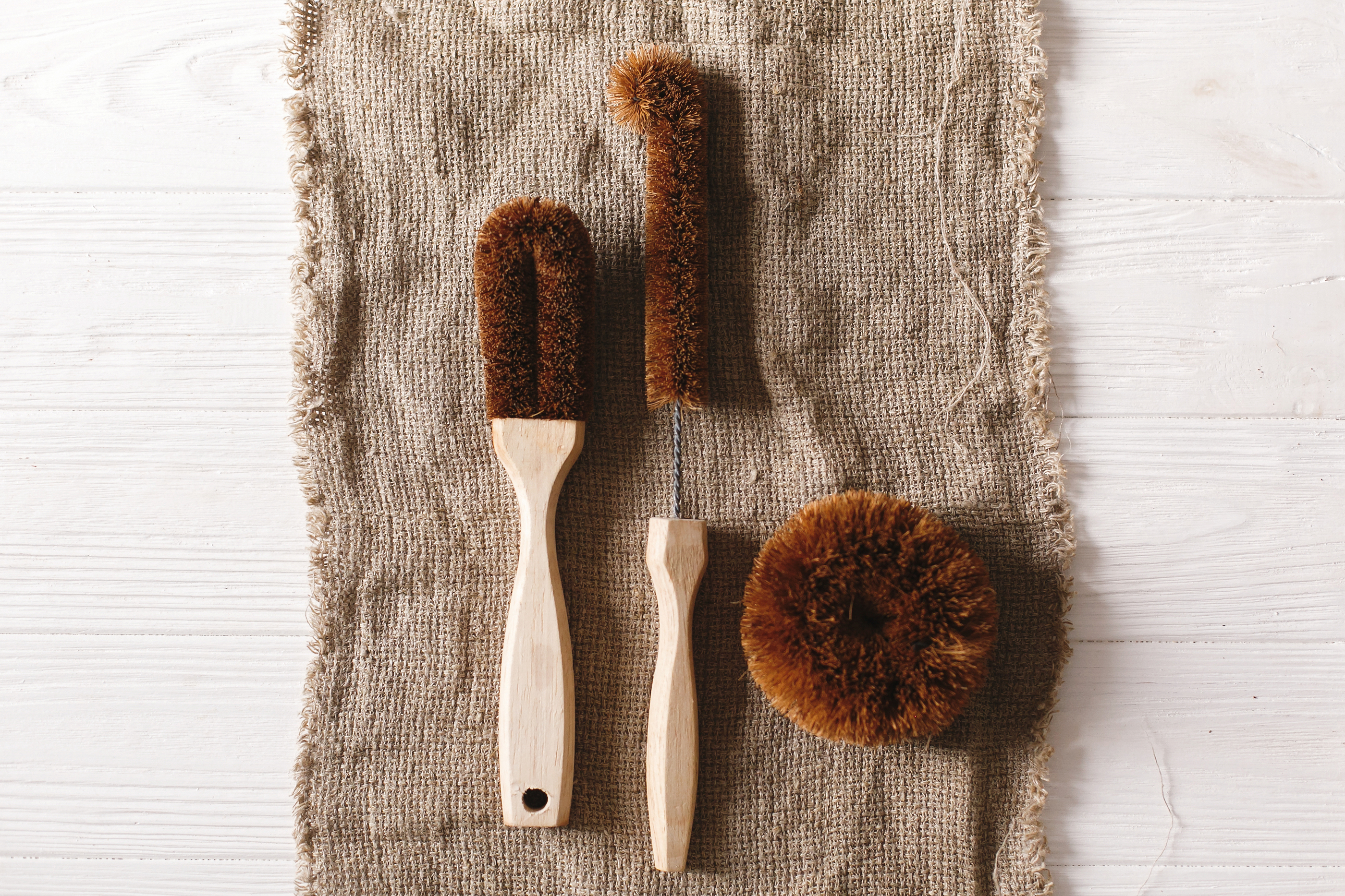 zero waste washing up tools