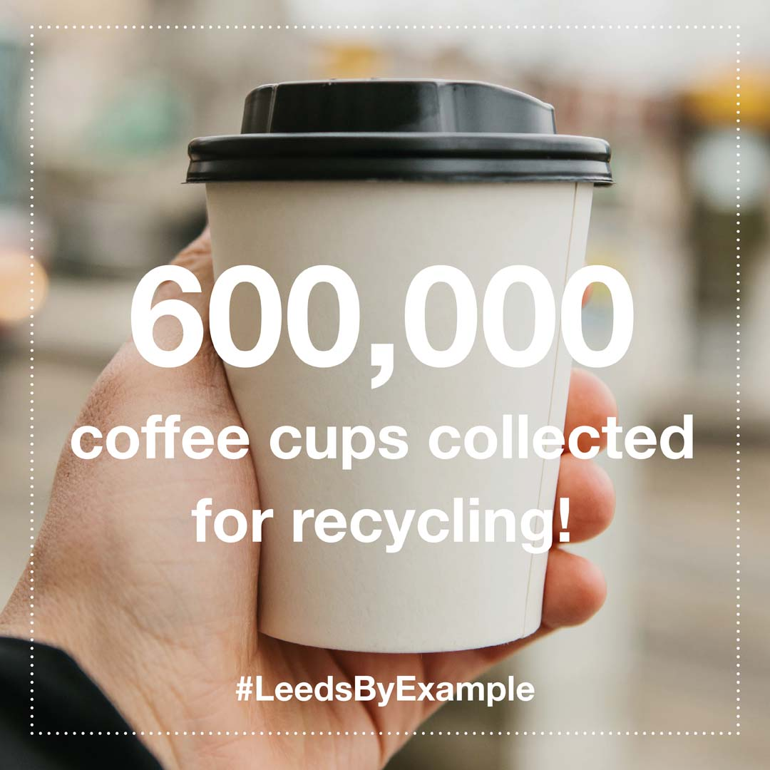 coffee cup recycling Leeds
