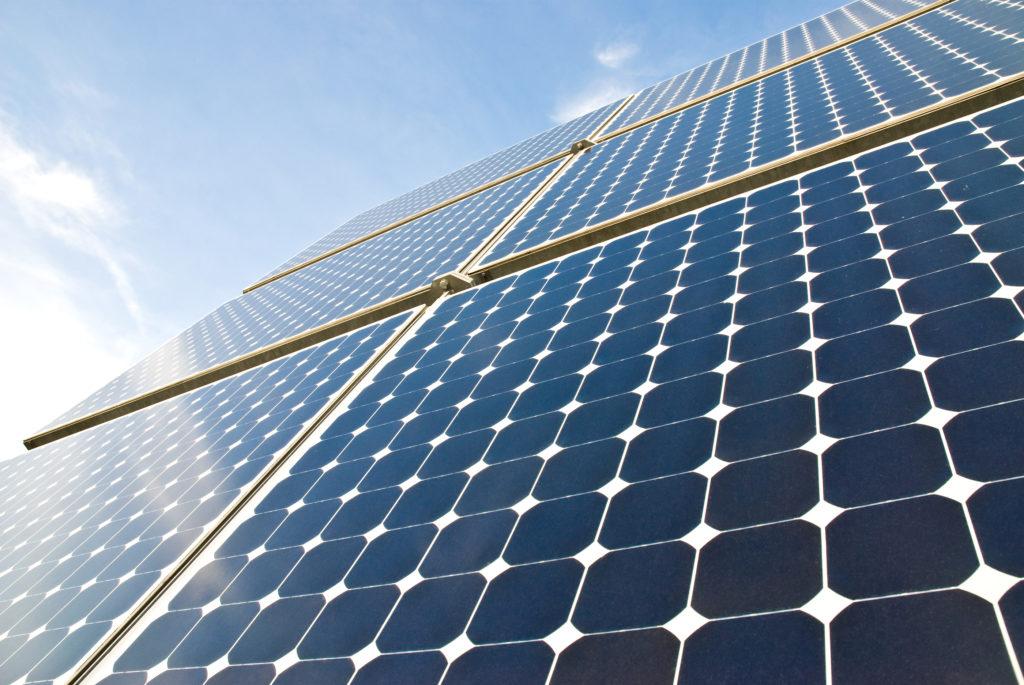 solar panels like at Glastonbury Festival