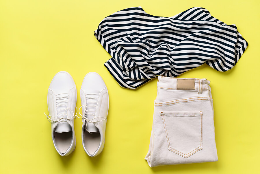 Clothes for a capsule wardrobe