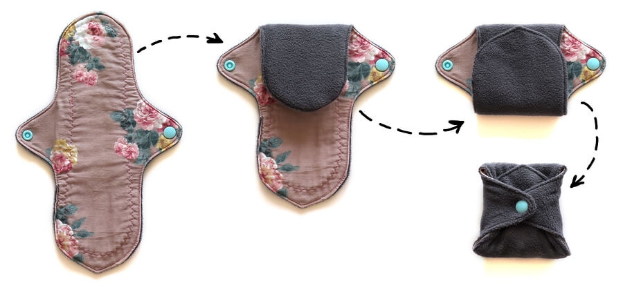 cloth pads for sustainable periods