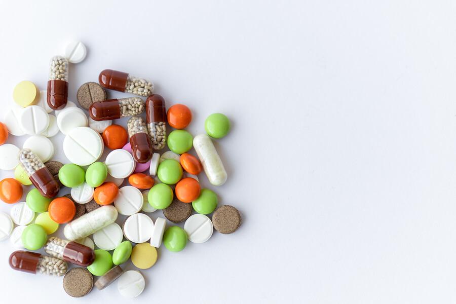muchas pastillas - medicina