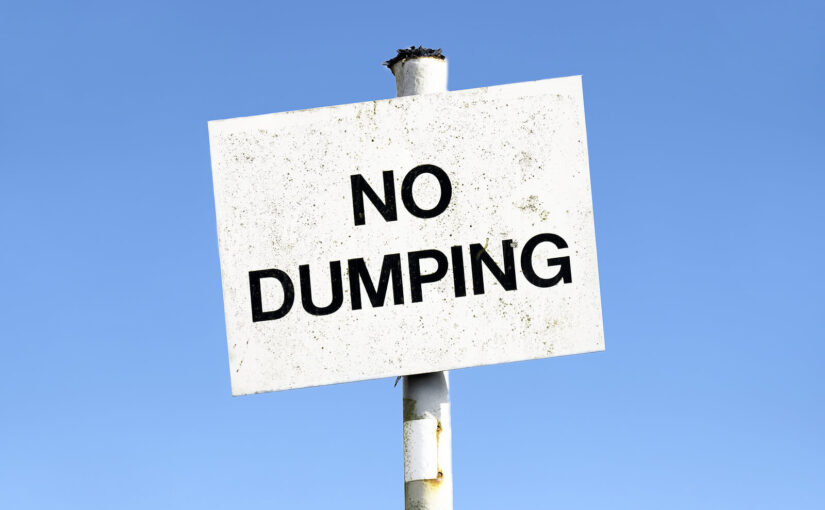 Hessle woman fined when someone fly-tipped her waste